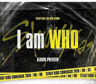 [PREORDER] Stray Kids - I am Who