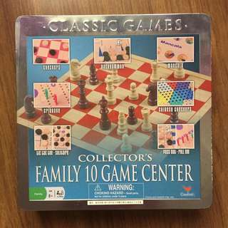 10-in-1 board game