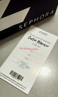 Sephora Full Make up Service #July70