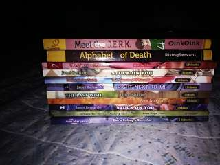 Lifebooks and wattpad books