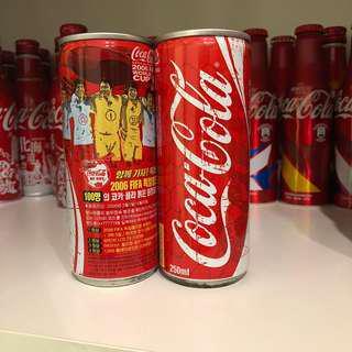 Coca Cola Korea 2006 Fifa World Cup Tin Can