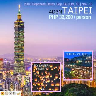 4D3N in Taipei via China Airlines