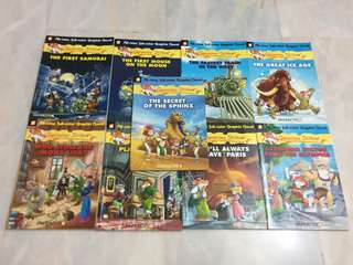 🚚 Geronimo Stilton Graphic Novels