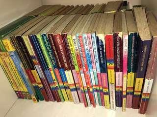 Rainbow Magic and Geronimo books