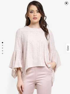 Zalia Loose Lace Top
