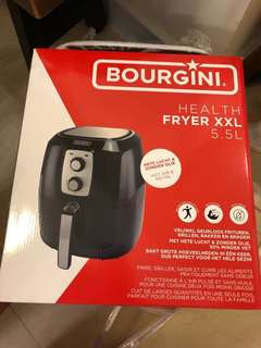 歐洲品牌 Bourgini 5.5L 空氣炸鍋