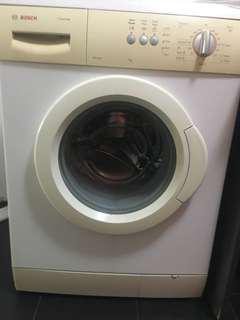 Bosch 7kg front loader washing machine