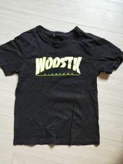 🚚 Woostk黑色上衣T