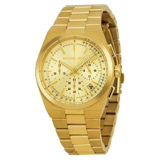 CHANNING GOLD DIAL GOLD-TONE LADIES WATCH MK5926