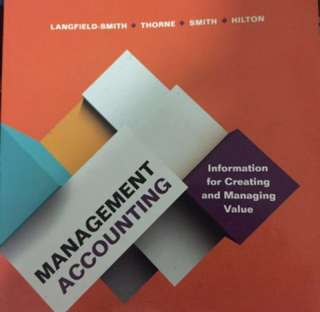ACC2706 Managerial Accounting Textbook