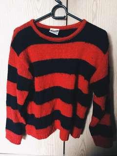 Vintage nirvana look sweater
