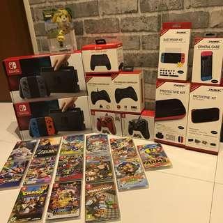 [NEW] Nintendo Switch Mega Bundle (Read Description!)
