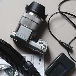 kamera sony nex 5n kit lens 18 55 f3.5-5.6 oss normal dan tajam