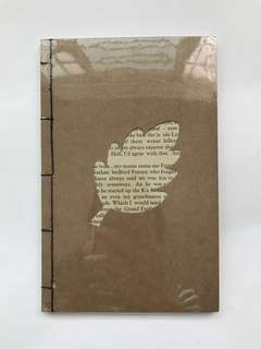 Thread Sewn Eno Greeting Notebook