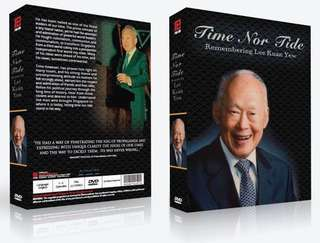 Time Nor Tide: Remembering Lee Kuan Yew DVDs