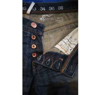 Earnst Sewn Kyree ## denim made in USA size 31