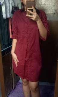 Mogao longsleeves dress