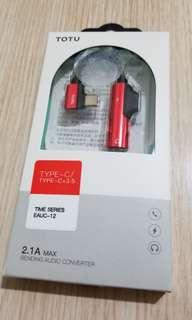 Type c 轉 3.5mm 轉插