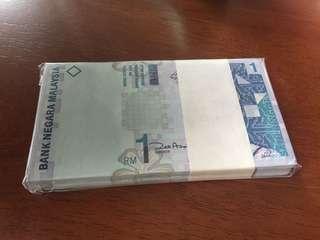 Malaysia $1 (100) 11th Series