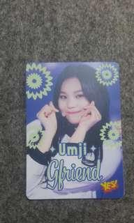 yes card 夜光卡 umji gfriend