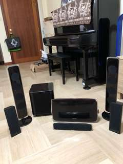 Samsung Dolby dts 5.1 CD DVD Bluetooth USB home theatre systems