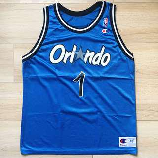 Penny Hardaway Orlando Magic Champion Jersey Made in USA
