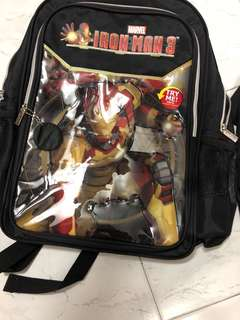 Iron man bag
