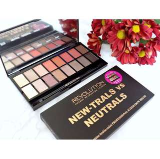 🚚 [CLEARANCE SALES] Makeup Revolution New-trals vs Neutrals Palette {FREE NM}