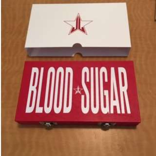 Jeffree Star Lovesick Collection Blood Sugar Eyeshadow Palette (New & Authentic) PRICE IS FIRM