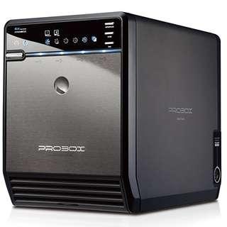 Mediasonic Hotway Probox (Non-raid) HF2-SU3S2 4-Bay USB3 Enclosure