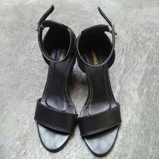 Zalora Celeria Black High Heels