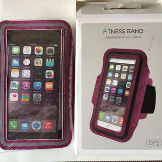 iPhone 6/S fitness band for arm