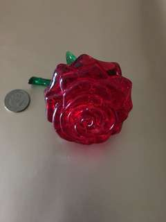 Rose paper weight