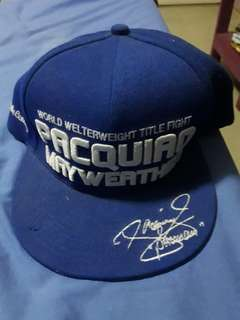 Pacman vs mayweather fight cap