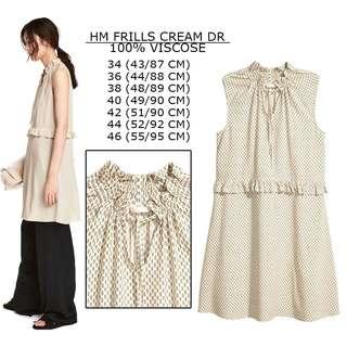 H&M Dress Fills Ruffle Haelter