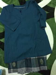 Baju Kurung Moden songket 4-5 tahun