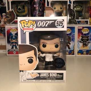 James Bond - James Bond in White Tux (Octopussy) Pop! Vinyl Figure (Exclusive)