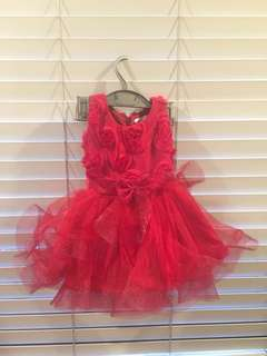 Baby Fashionistas Red Party Dress