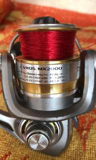 Fishing Reel Red one sold Left Green one only.