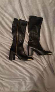 WITTNER all leather knee high boots