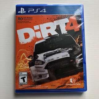(新)PS4 Dirt 4 賽車