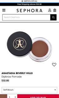 Anastasia dip brow