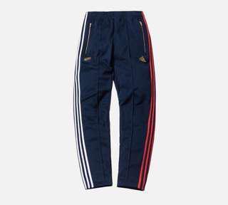 🚚 WTT/WTS Kith x Adidas 3 Stripes Track Pants Navy M