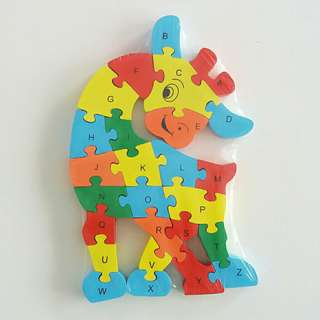 Wooden Jigsaw Puzzle for kids 3 and ul