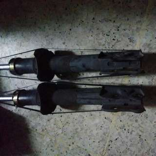 Original MYVI Shock Absorbers Front Perfect Condition