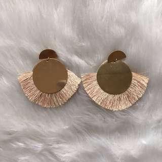 Bershka Tassel Earrings