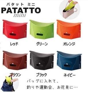🌟現貨🌟日本🇯🇵PATATTO mini 輕便折疊椅子