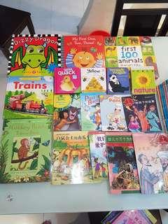 Lot of 25 Children Books