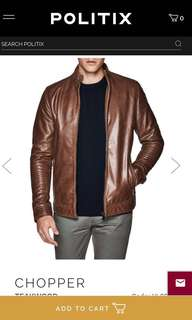 Politix Leather Jacket