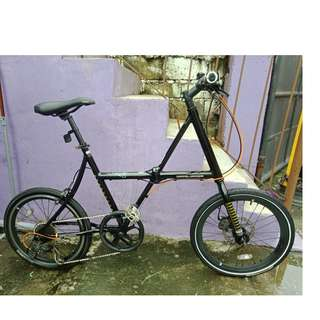 DOPPELGANGER ALLOY FOLDING/MINI VELO (FREE DELIVERY AND NEGOTIABLE!)